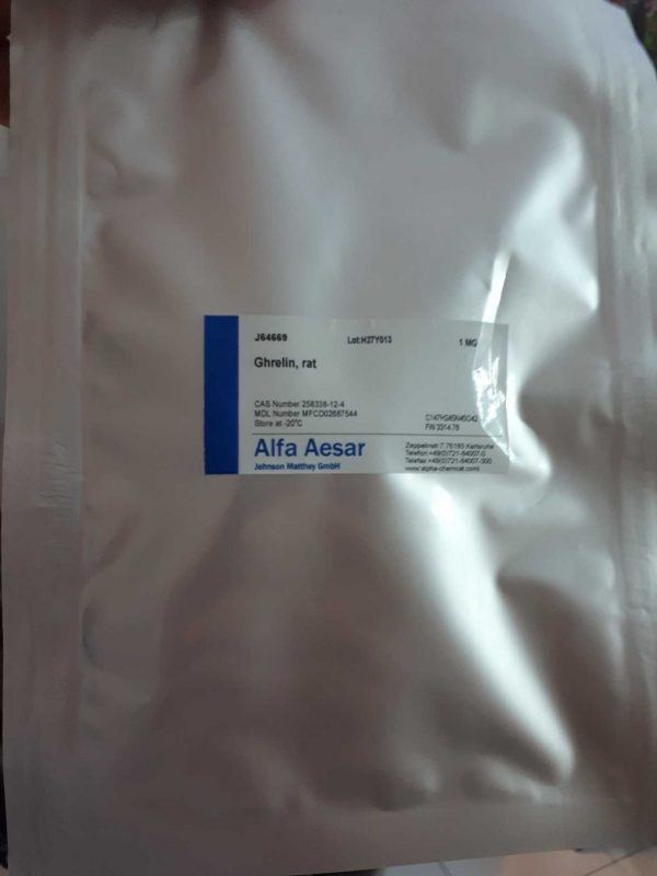Alfa Aesar J64669 Ghrelin rat